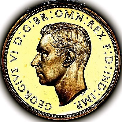 1937 King George VI Great Britain Gold Proof Five Pounds £5 PCGS PR64+ DCAM