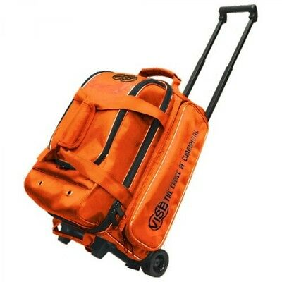 Vise Grip 2 Ball Economy Scooter Bowling Bag Orange for Accessories and Shoes