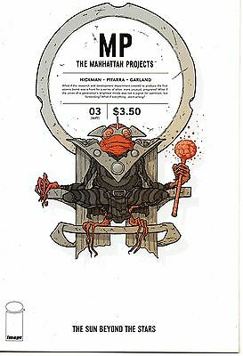 Manhattan Projects The Sun Beyond The Stars #3 (NM)`15 Hickman/ Pitarra