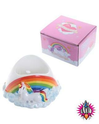 Unicorn And Rainbows Egg Cup In Gift Boxed