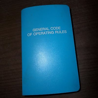GCOR - General Code of Operating Rules Rev, 4-27-86