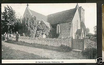 HEH Early Postcard, All Saints' Church, Calbourne, Isle of Wight