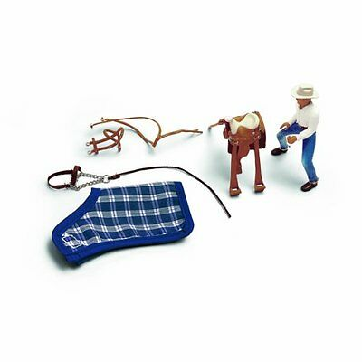 WESTERN RIDING SET WITH COWBOY by Schleich/40188/RETIRED/