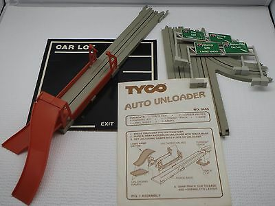 Auto Unloader Set With Turnout Track Tyco Us-1 Electric Trucking Ho Slot Car