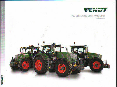 Fendt 700, 800 and 900 Series American Tractor Brochure Leaflet