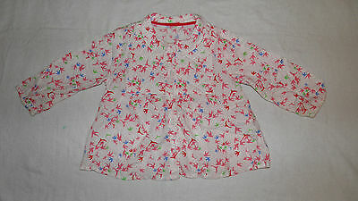 Marks and Spancer Baby girl lovely shirt size 9 -12 months