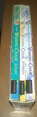 Enid Blyton's The Adventures of the WISHING CHAIR. ( Box Set of 3 books)