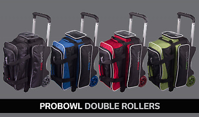 Pro Bowl 2 Ball Bowling Scooter Deluxe all lots of space for Bowlingaccessories