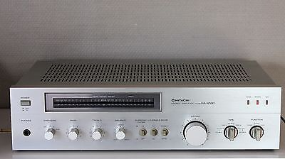 Amplificateur Vintage Hitachi Ha-4500 Stereo Integrated Amplifier 1980