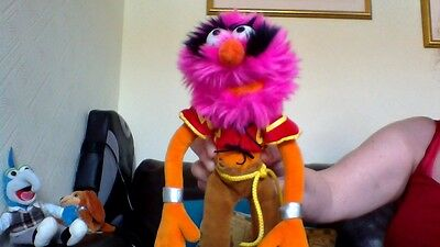 Disney Muppet Soft Toy ,animal/approx 12Ins Tall