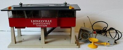 O Lionel Postwar Operating Sound Dispatching Station #465 with Original Box