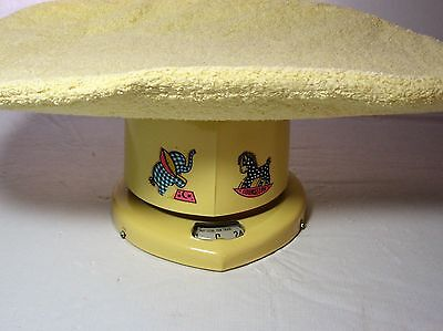 Vintage Brearley Counslor Baby Scale Up To 25# 1950S Nursery Prop With Cover