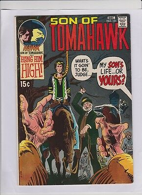SON OF TOMAHAWK 131, 132, 134, 135, 138, 140, Joe Kubert,  low cost 6 issue lot