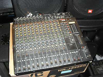 TASCAM M-1016 Mixing Desk 8 Mic 4 Stereo Channels Aux PA System Effect Send