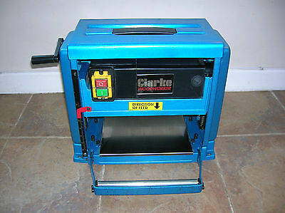 """Clarke Woodworker 10"""" (254mm) Portable Thicknesser."""