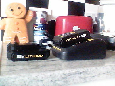 Fatmax x2 batterys 18v,and charger