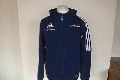 Adidas SKY BRITISH CYCLING Zip Up Cotton Hoodie Hooded Jacket Small Mens