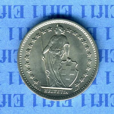 Switzerland silver coin 50 cent. 1963 , 50 Rp silber Münze