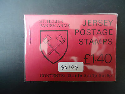 Jersey 1980 £1.40 Booklet (SB 30) (St Helier) MNH