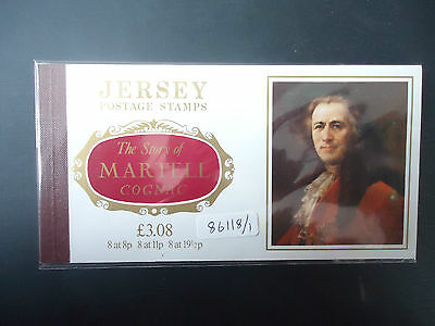 Jersey 1982 £3.08 Martell Booklet (SB 33) MNH (86118/1)