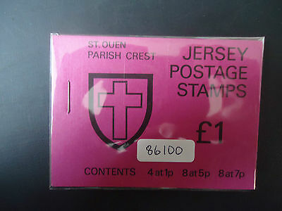 Jersey 1976 £1 Booklet (SB 26) (St Queens) MNH