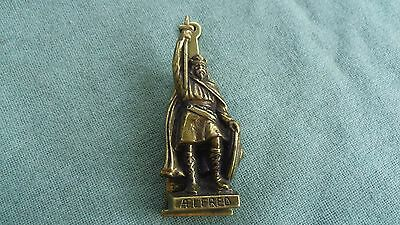 Vintage Brass Door Knocker  Aelfred King Alfred