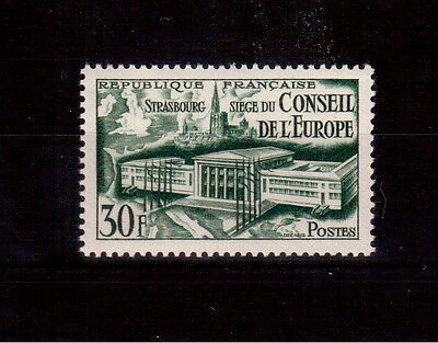 France 1952 #679 Mint Vf Nh, Council Of Europe !!