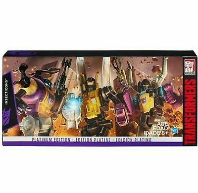 Transformers Platinum G1 Reissue Insecticons NEW