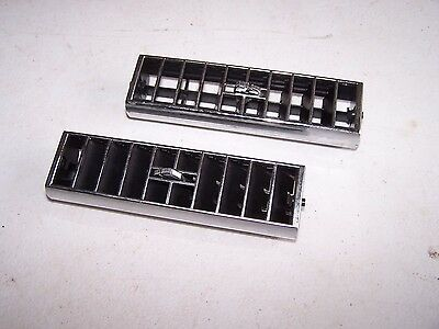 CADILLAC AC A/C Heater Air Conditioning Dash Vent Louver Deflector Set Pair