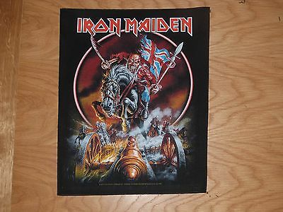 Iron Maiden - Maiden England Giant Back Patch (New) & Official Band Merchandise