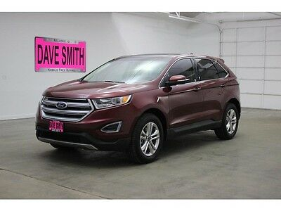 2016 Ford Edge  16 Ford Edge SEL AWD Auto Panoramic Sunroof Navigation Capable Keyless Entry