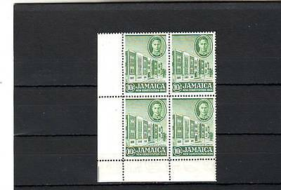 a109 - JAMAICA - SG140 MNH 1945 INSTITUTE OF JAMAICA - BLOCK OF 4