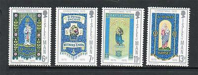 Isle Of Man Mnh 1976 Sg90-93 Christmas & Centenary Of Mother's Union