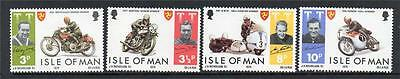 Isle Of Man Mnh 1974 Sg46-49 Tourist Trophy Motorcycle Races