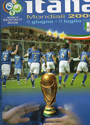 2006 World Cup Finals Italy Football Team Media Guide