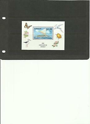 Kiribati - The Greenhouse Effect - Miniature Sheet + Stamps