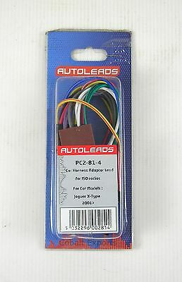 Autoleads PC2-81-4 Car Audio Harness Adaptor Lead - Jaguar