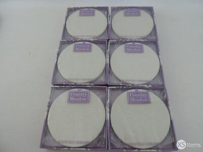 6 x Ashleigh & Burwood Scented Ceramic Discs Home Country Meadow Fragrance