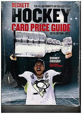 Beckett 2017 Hockey Annual Price Guide 26th Edition SIDNEY CROSBY PENGUINS