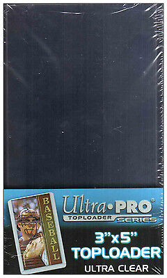 Ultra Pro Toploaders 3 X 5 Tallboy Pack