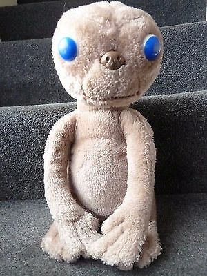 E.T. Soft Plush Toy Kamar 80s Vintage Alien Universal Studios - Soft Toy