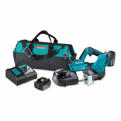 Makita 18V LXT 5.0 Ah Cordless Lithium-Ion Compact Band Saw Kit  XBP01T New