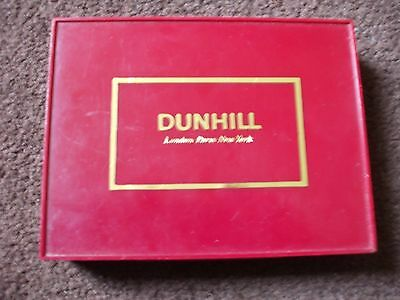 Twin Pack Of Dunhill Of London,Paris &  New York Playing Cards Still Sealed.