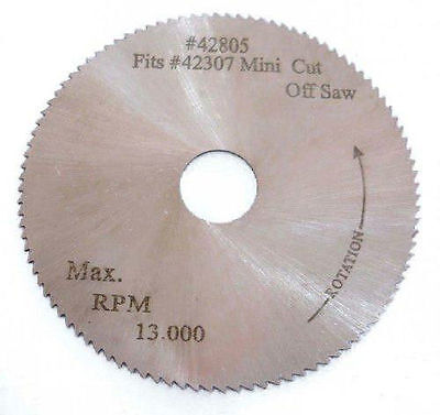 "MINI 2"" Bench Top CUT-OFF CHOP SAW BLADE HSS Fits Proxxon Chicago Microlux"