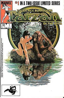 TARZAN OF THE APES  #1 of 2 Issue Series - 1984