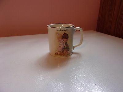 Precious Moments Love One Another Coffee Cup Mug 1978 Enesco
