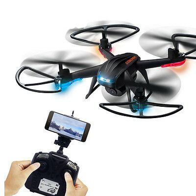 New PFV 6-Axis Gyro RC Camera Quadcopter Drone 30W WIFI 2.4Ghz Headless Mode