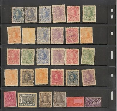 oldhal-Colombia- Bolivar State- Mint/Used Lot