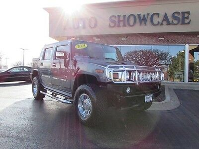 2005 Hummer H2 Base Sport Utility 4-Door 2005 HUMMER H2 SUT 4X4 LEATHER LOW MILES ALL STOCK ORIGINAL