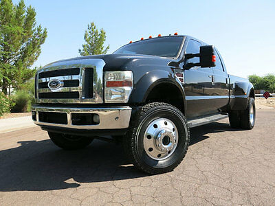 2008 Ford F-450 4 Wheel Drive Crew Cab Diesel 2008 Ford F-450 Super Duty Diesel Dually 4x4 LOW MILES